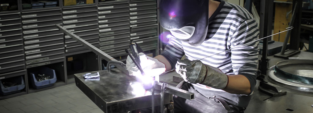 Saldatura pezzi di alluminio con il metodo TIG