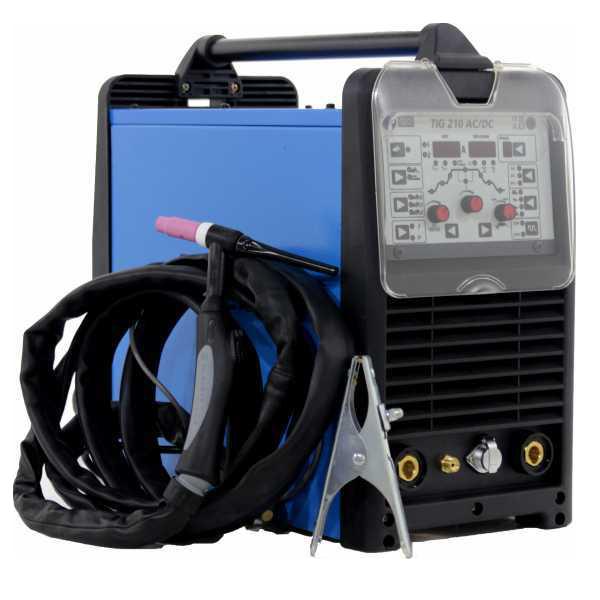 Saldatrice inverter tig Awelco TIG 210 AC/DC