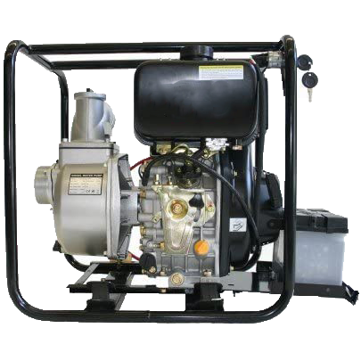 Motopompa motore diesel